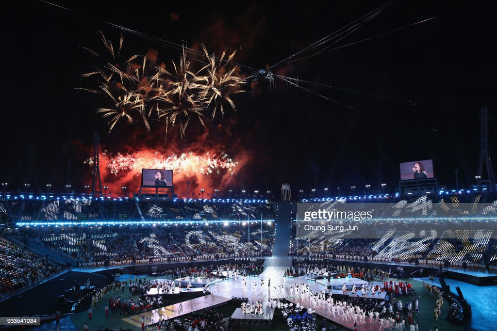 2018 Paralympic Winter Games - Closing Ceremony
