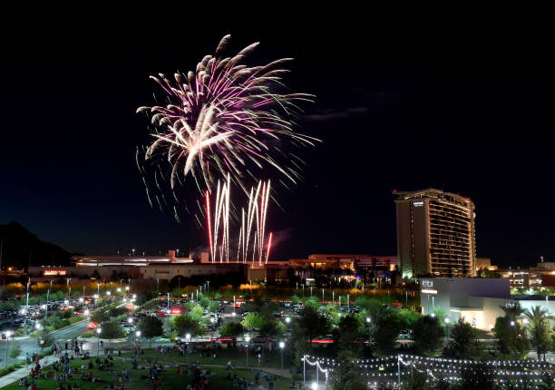 NV: Fourth Of July Fireworks Display At The Red Rock Resort