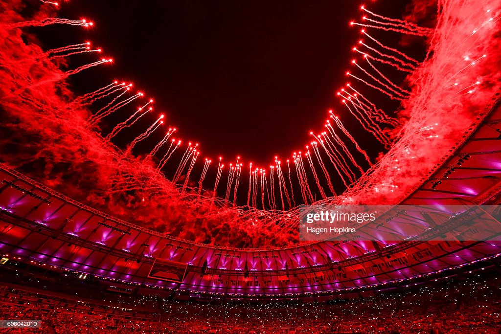 2016 Rio Paralympics - Opening Ceremony : News Photo
