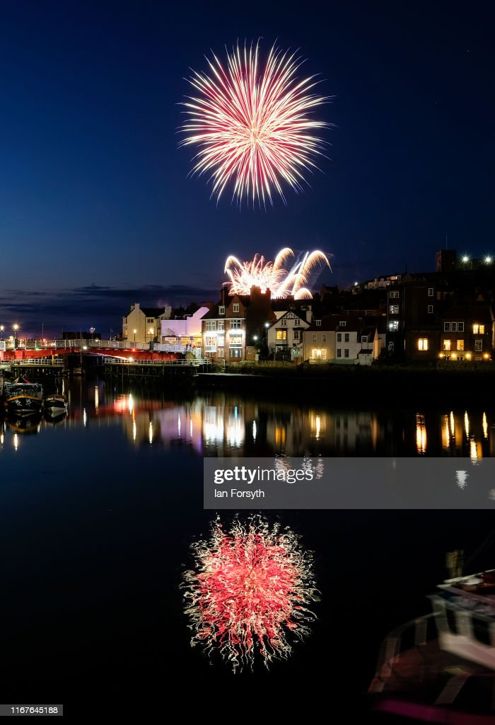 Firework Finale Completes Whitby Regatta Weekend : News Photo