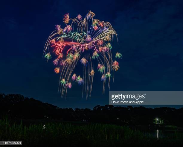 fireworks festival - フェス ストックフォトと画像