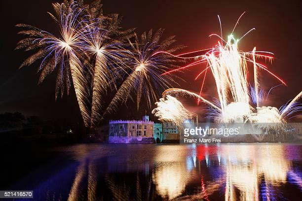 Fireworks, Guy Fawkes Night, Leeds Castle