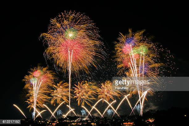 Fireworks, Ibaraki Prefecture, Japan