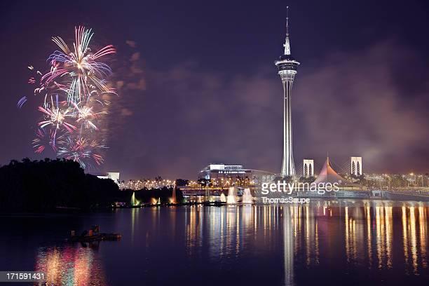 Feuerwerk in Macau