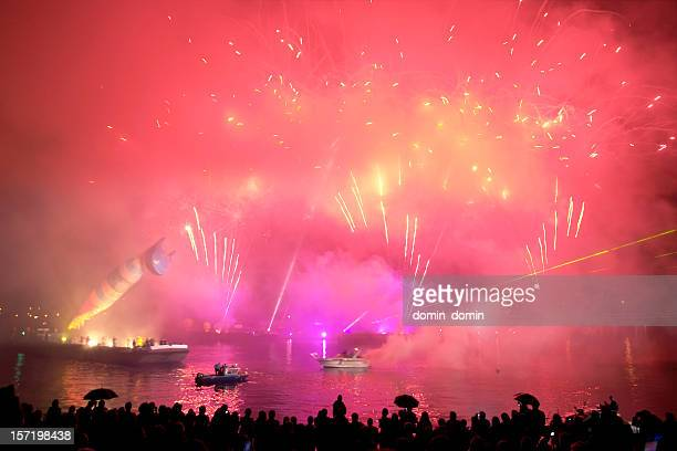 Fireworks, lasers, theater, music entertainment, music festival, event