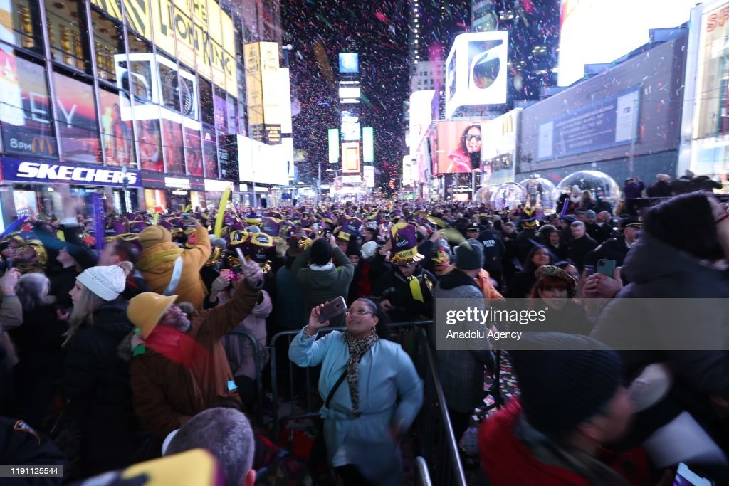 New Year celebrations in New York : News Photo