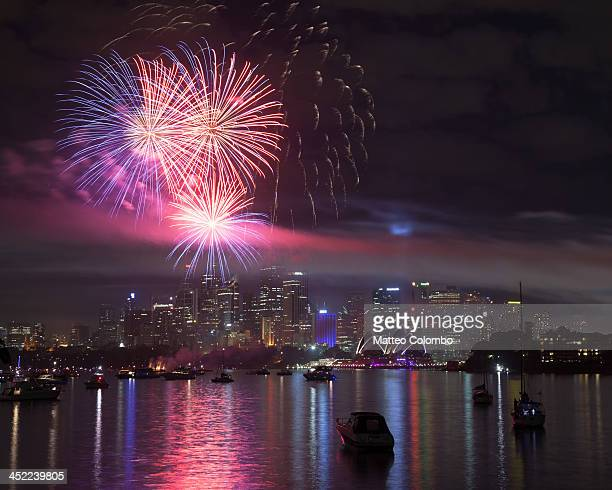 Fireworks over Sydney