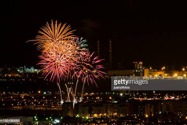 fireworks - カステリョン ストックフォトと画像