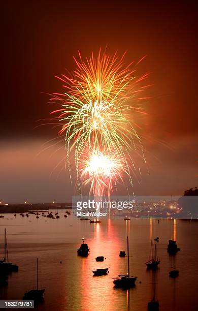 fireworks - 4th stock pictures, royalty-free photos & images