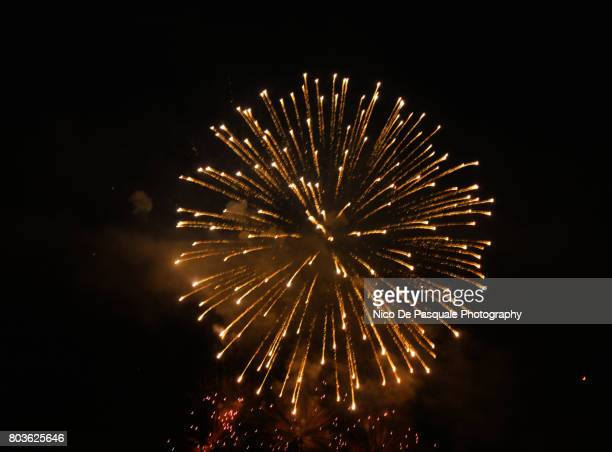 fireworks - firework display stock photos and pictures