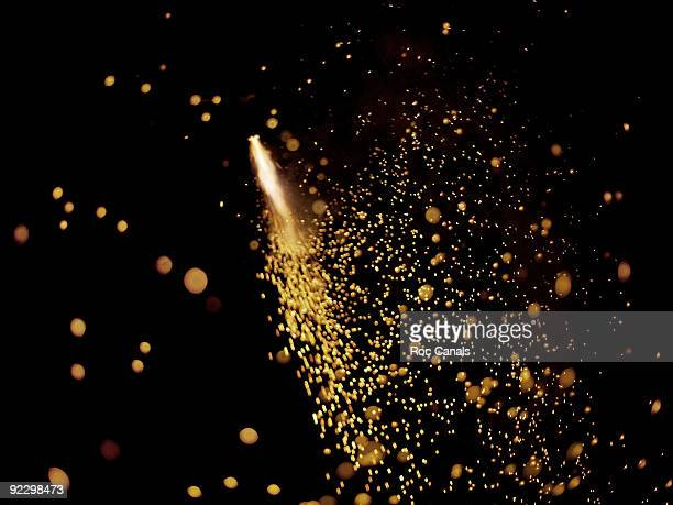 fireworks - sparks stock pictures, royalty-free photos & images
