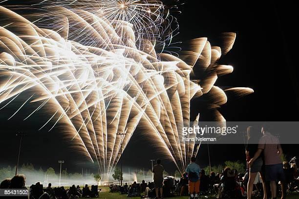 Fireworks to celebrate Canada Day in Hamilton