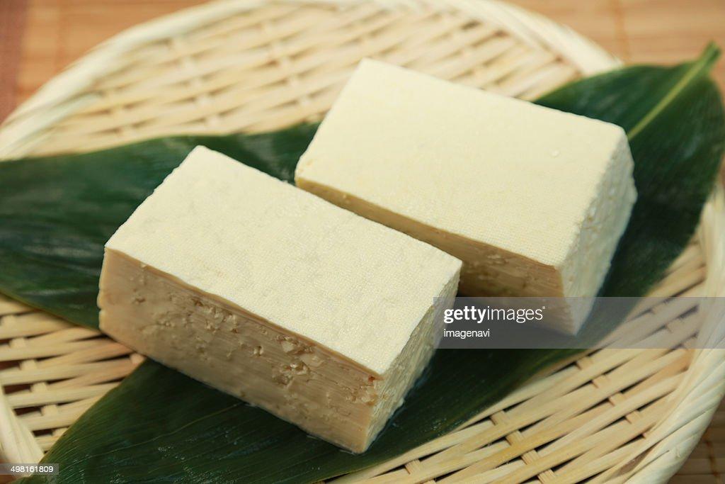 Firm tofu : Stock Photo