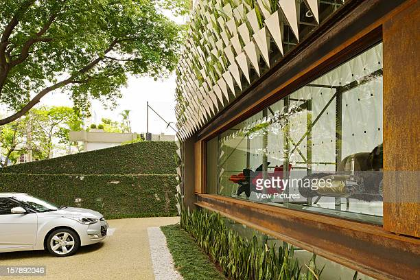 Firma Casa, Jardim Paulistano, Sao Paulo, Brazil, Campana Bothers & Super Limao, A Car Si Parked At Front Of Building, Campana Brothers & Super...