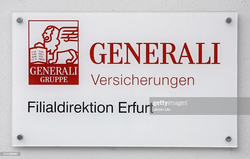 Firmenschild Und Logo Der Generali Versicherungsgruppe Pictures
