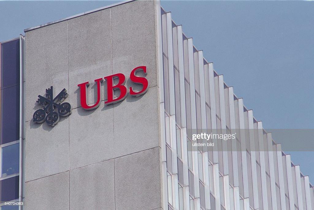 United Bank Of Switzerland Logo News Photo