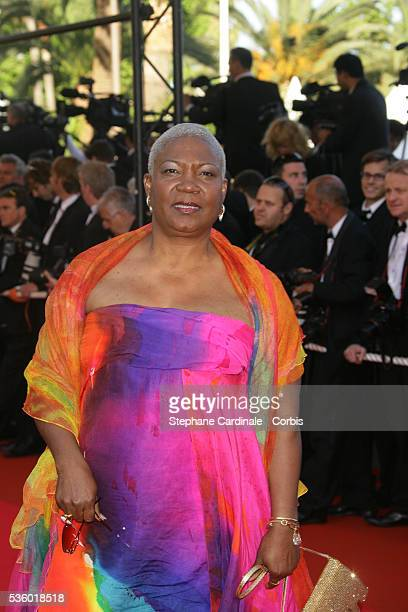 Firmine Richard arrives at the premiere of 'Zodiac' during the 60th Cannes Film Festival