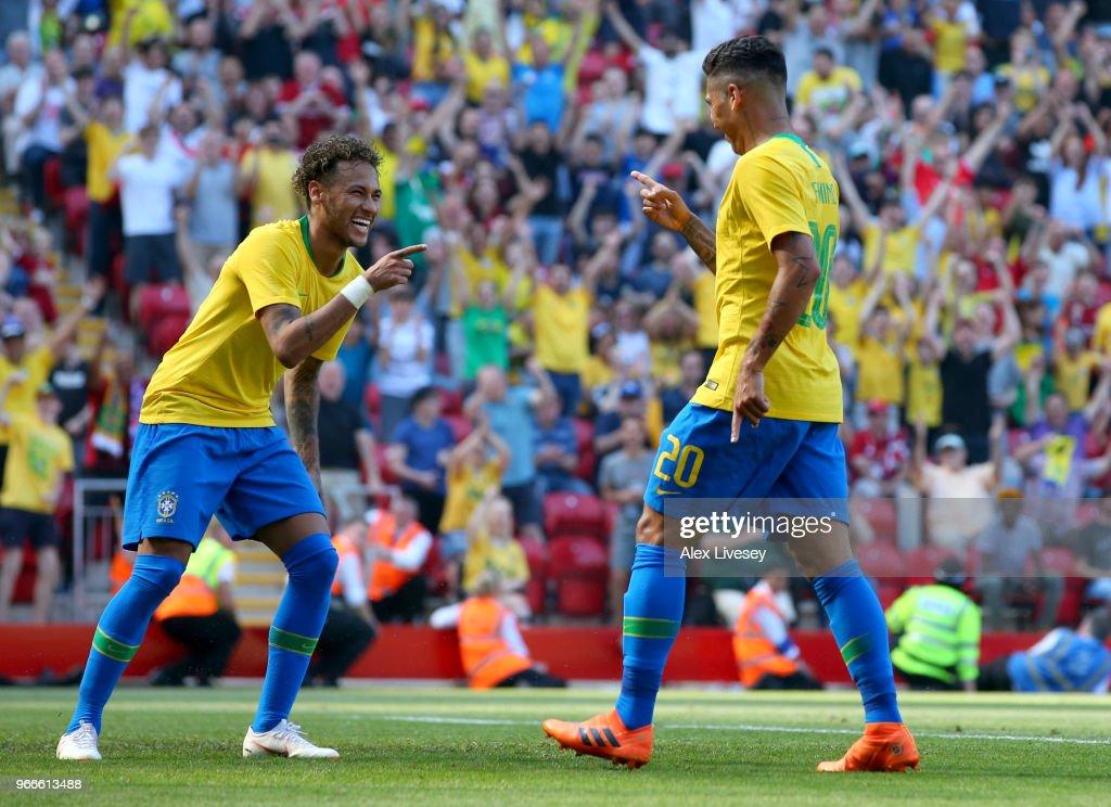 Croatia v Brazil - International Friendly : Fotografía de noticias