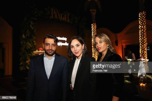 Firras Alwahabi Dana Hourani and Zaina Al Alami attend Piaget celebrates Abdullah Al Kaabi's talent by hosting a private screening of his short film...