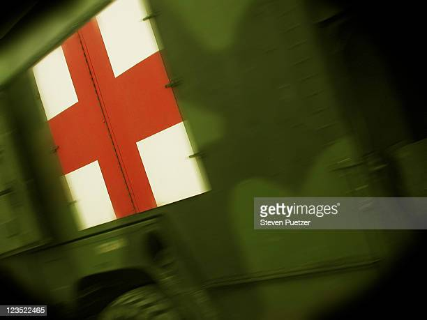 First aid Army truck