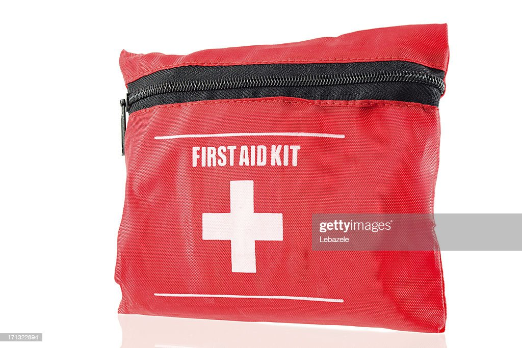 First Aid Kit (small) : Stock Photo