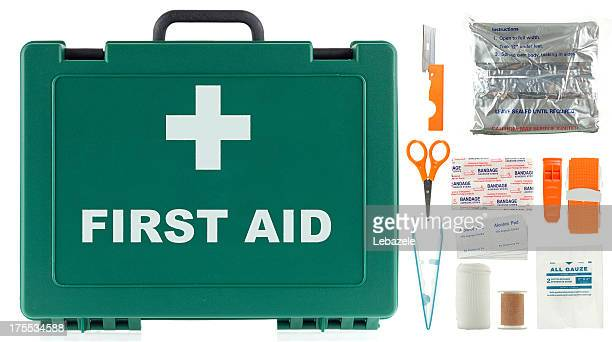 first aid kit - first aid kit stock pictures, royalty-free photos & images