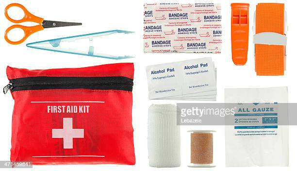 first aid kit (small) - first aid kit stock pictures, royalty-free photos & images