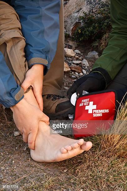 Erste Hilfe auf dem Trail