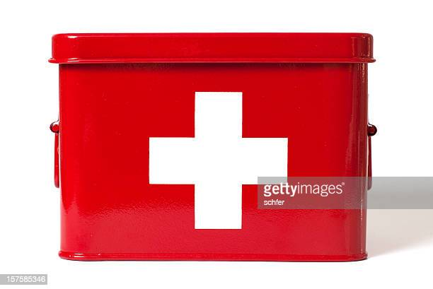 first aid - first aid kit stock pictures, royalty-free photos & images