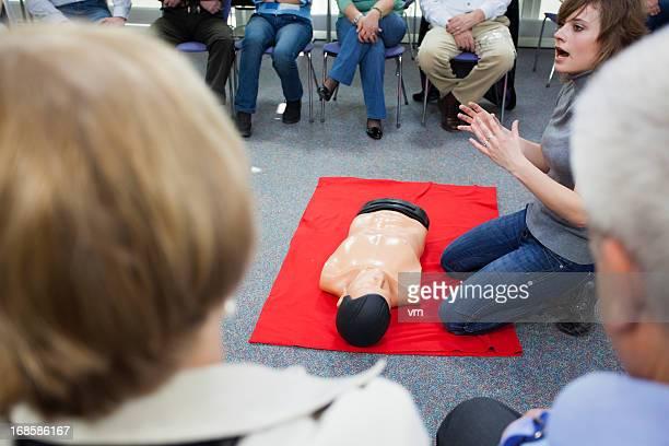 Curso de formación de primeros auxilios