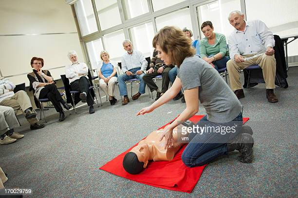 first aid training course - rescue worker stock pictures, royalty-free photos & images