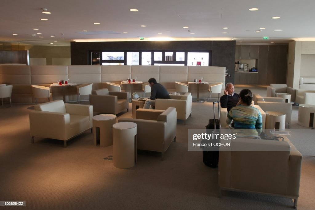 First Air France Lounge : News Photo