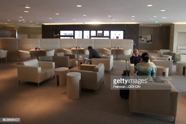 First Air France lounge on September 9 2011 in Roissy Charles de Gaulle airport in Roissy France