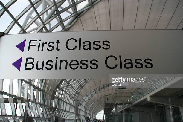first and business