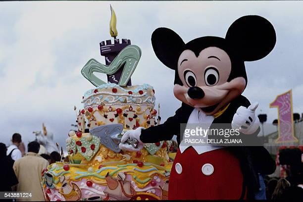 First Anniversary of Disneyland Paris