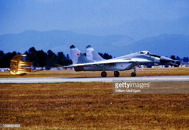 First appearance of the MiG29 on the North American Continent Abbotsford BC Canada August 11 1989