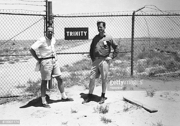 First Atom Bomb test siteTrinity