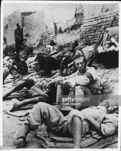 First Authentic Picture Of SinoJapanese Conflict At Peiping