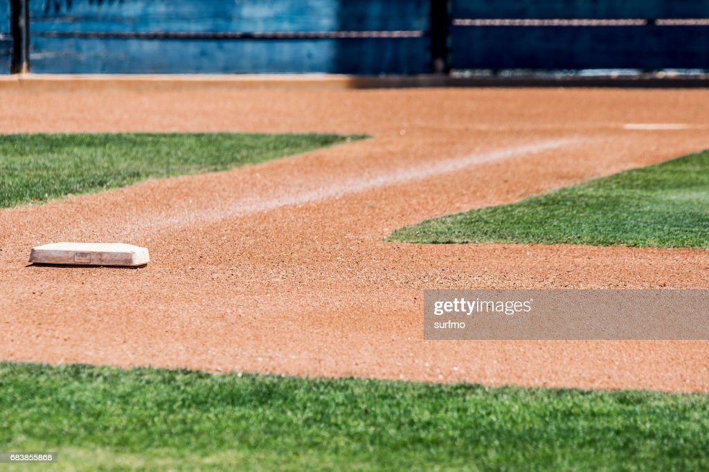 first base : Stock Photo
