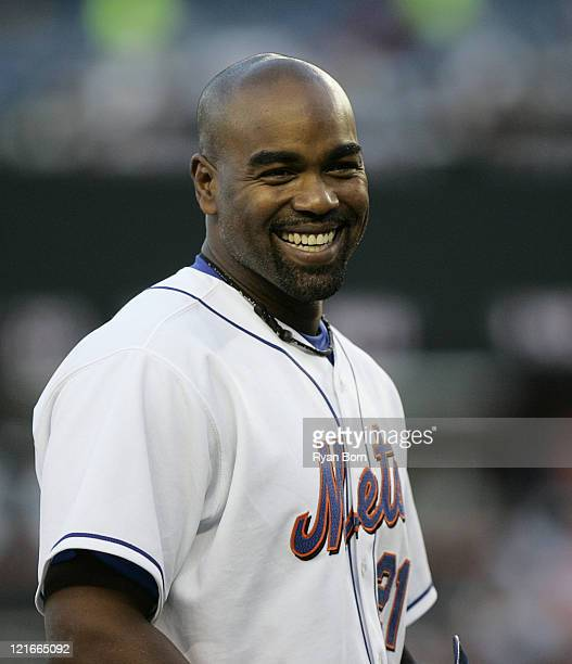 First Baseman Carlos Delgado of the New York Mets during the game against the Philadelphia Phillies at Shea Stadium in Queens, NY on May 24 2006.