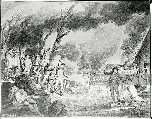 First battle of the American Revolutionary War, the Battle of Lexington fought April 19, 1775.
