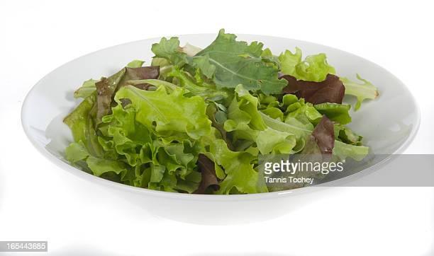 asparagus baby salad mix leaf lettuce green garlic