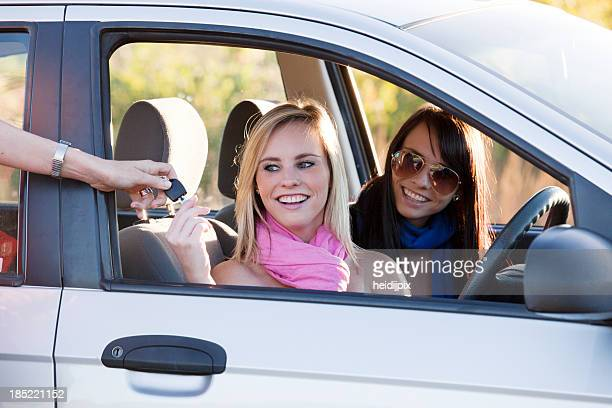 first car - compact car stock photos and pictures