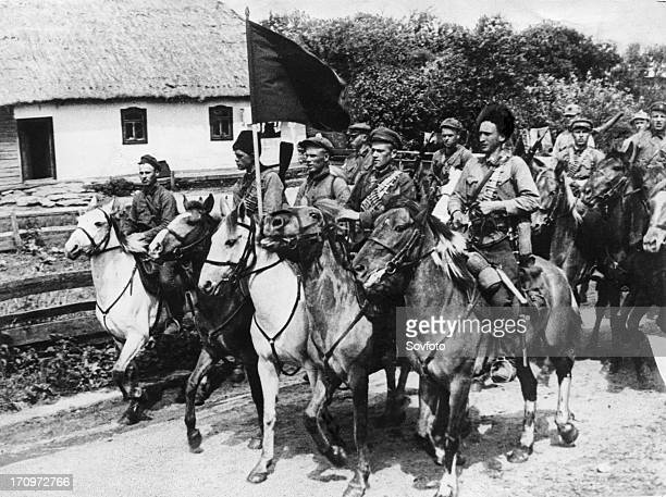 First cavalry army under the command of semyon budonny civil war period russia 19191922