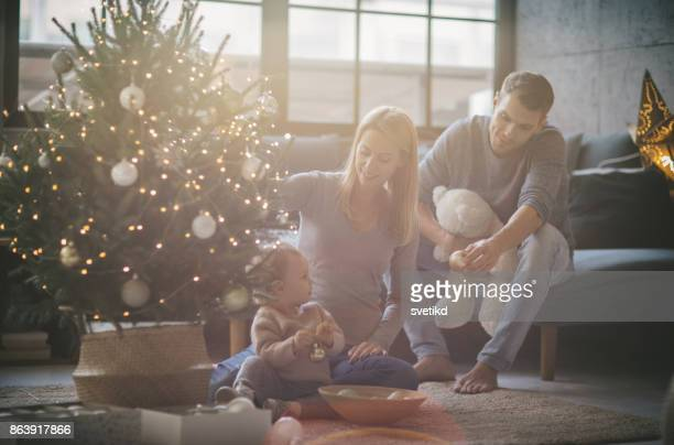 First Christmas as a family