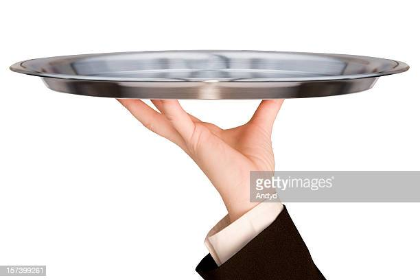 first class service - serving tray stock pictures, royalty-free photos & images