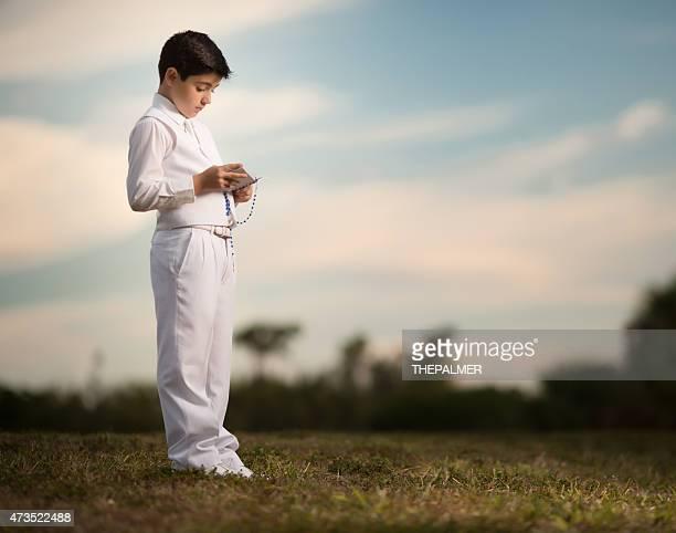 Primera comunión niño