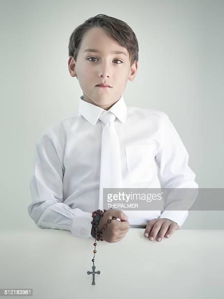 Primeira Comunhão rapaz