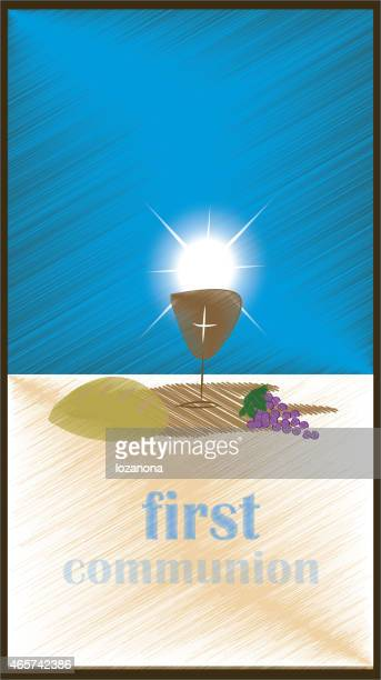 first communion with jesus