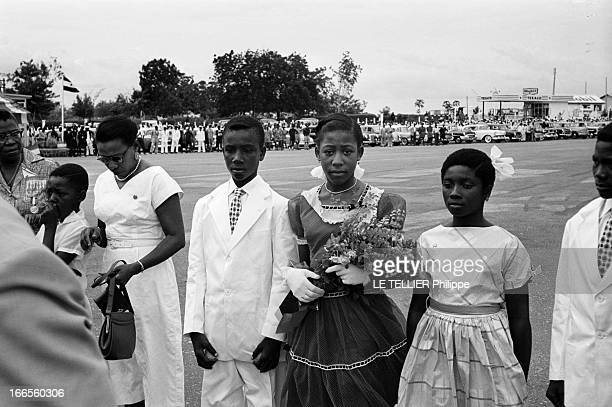 First Conference Of The 'Rassemblement Des Peuples Africains' In Accra Ghana Le 17 avril 1954 une conférence panafricaine à Accra au Ghana avec les...